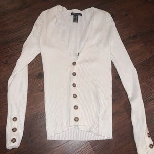 Forever 21 Button Top